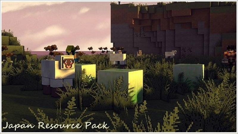 Japan Resource Pack 1-tile